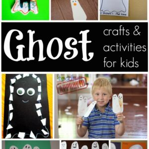 Ghost Crafts & Activities for Kids