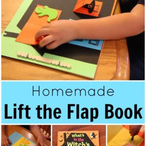 Homemade Lift the Flap Book {Nick Sharratt Virtual Book Club Blog Hop}