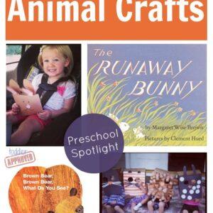 Paper Bag Animal Crafts {Preschool Spotlight}