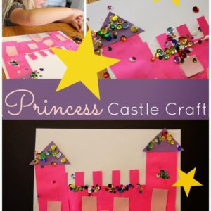 Sparkly Princess Castle Craft