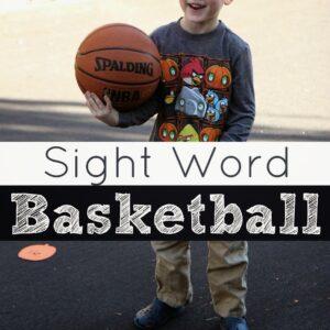 Sight Word Basketball