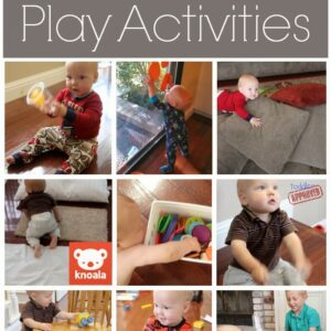 Simple Play Activities for Babies {Knoala App}