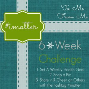 A Challenge for You! #imatter