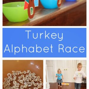 Turkey Alphabet Race Game With Alpha-Bits