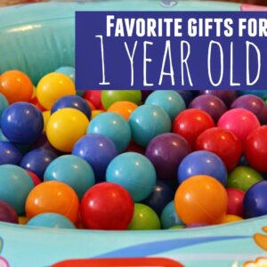 Favorite Gifts for One Year Olds {Toddler Approved Holiday Gift Guide}
