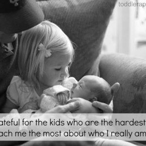 I Am Grateful for Parenting Challenges {21 Days of Gratitude Challenge}