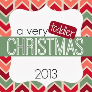 A Very Toddler Christmas {22 Days of Activities}