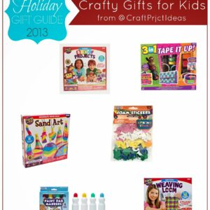 Crafty Gifts for Kids {Craftprojectideas.com Giveaway & Gift Guide}