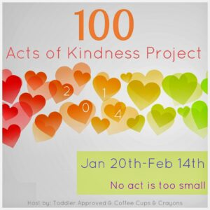 100 Acts of Kindness Project 2014
