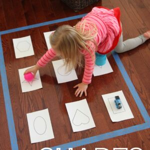 Move & Learn with Shapes {Pop Games Review & Giveaway}