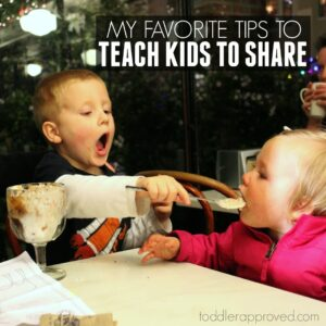 My Favorite Tips to Teach Kids To Share