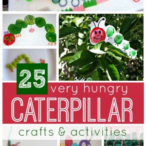 25 Very Hungry Caterpillar Crafts & Activities {45th Very Hungry Caterpillar Anniversary Giveaway}