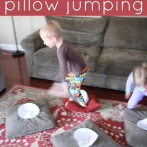 Alphabet Pillow Jumping