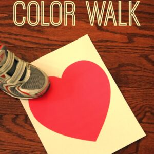 Heart Color Walk- A Game for Kids