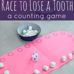 Race to Lose a Tooth: A Counting Game {Dinosaur Train Review & Giveaway}