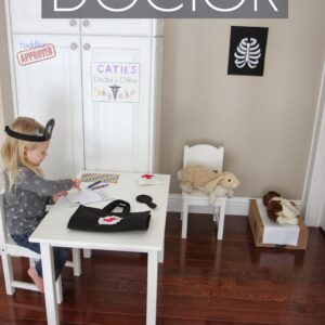 Let's Play Doctor Felt Pretend Play for Kids {+Giveaway}
