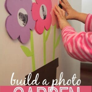 Build a Photo Garden for Babies & Toddlers