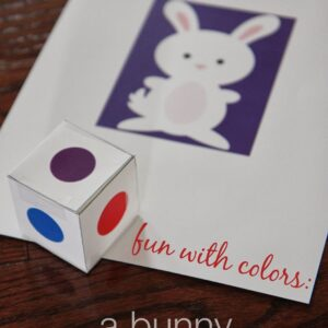 Fun with Colors: Bunny Movement Game