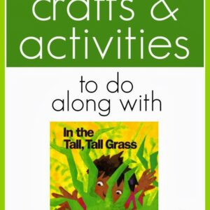 Crafts & Activities To Do Along with In the Tall, Tall Grass by Denise Fleming {Preschool Spotlight}