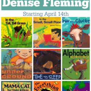Virtual Book Club for Kids Features Denise Fleming!