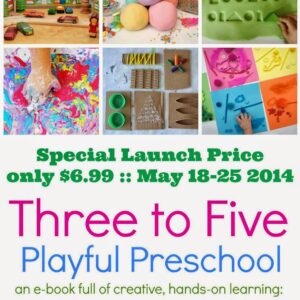 Announcing Three to Five: Playful Preschool!
