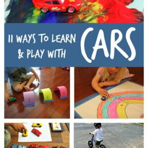 11 Ways to Learn and Play with Toy Cars