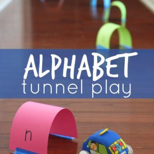 Alphabet Tunnel Play & Learning Resources Giveaway