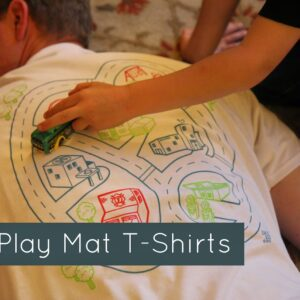 Cool Gifts: Car Play Mat T-Shirts {BKY Kid Review & Giveaway}