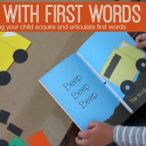 Fun with First Words {Language Activities for Kids}