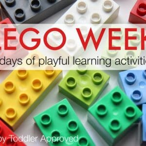 LEGO WEEK {Playful Learning Activities for Kids}
