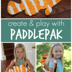 Clown Fish PaddlePak and Craft for Kids {+ Giveaway}