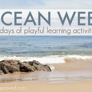 Ocean Week {Playful Learning Activities for Kids}