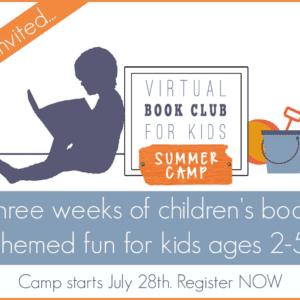 Kicking Off Virtual Book Club Summer Camp- Session 2