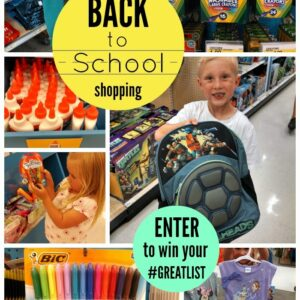 10 Favorite Supplies with Crafts to Match {+ Enter to WIN your #GREATLIST of School Supplies}