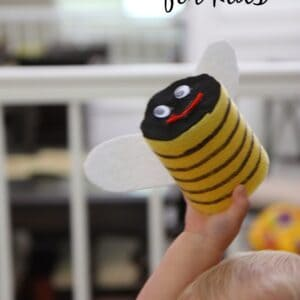 Bumble Bee Craft for Kids