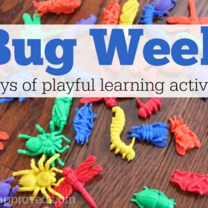 Bug Week {Playful Learning Activities for Kids}