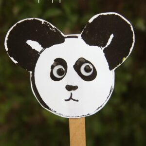 Panda Bear Puppet Craft