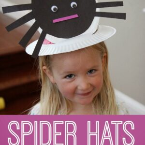 Spider Hat and Other Cool Spider Crafts for Kids