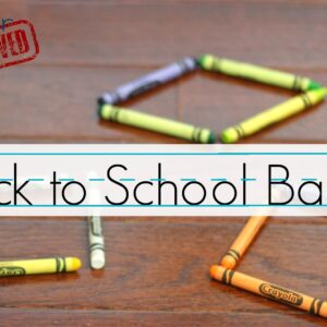 Back to School Basics: Learning Activities for Kids