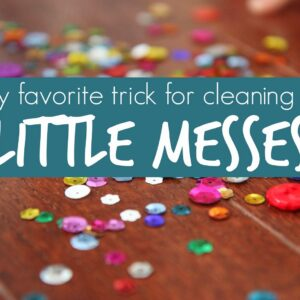 Cleaning Up Messes: Sticky Hands for Kids