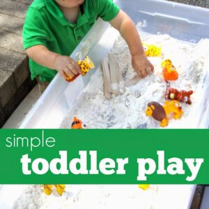 Simple Toddler Play