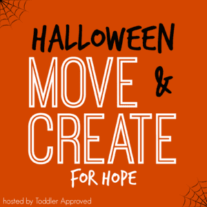 Announcing the Halloween Move & Create for Hope Series