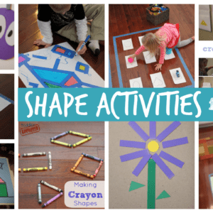 25+ Shape Activities and Crafts for Kids