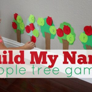 Build My Name Apple Tree Game