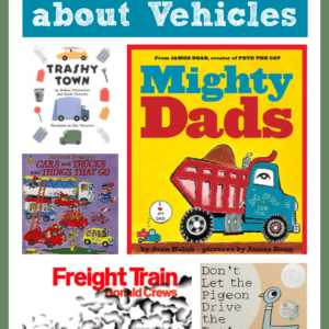 Favorite Books about Vehicles for Toddlers