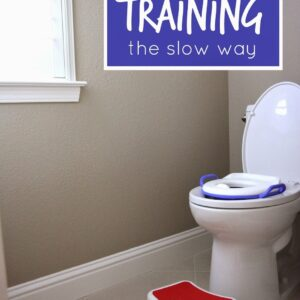 Potty Training The Slow Way