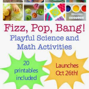 Announcing our Playful Science & Math Activities E-Book for Kids