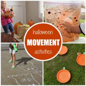Halloween Themed Movement Activities for Kids