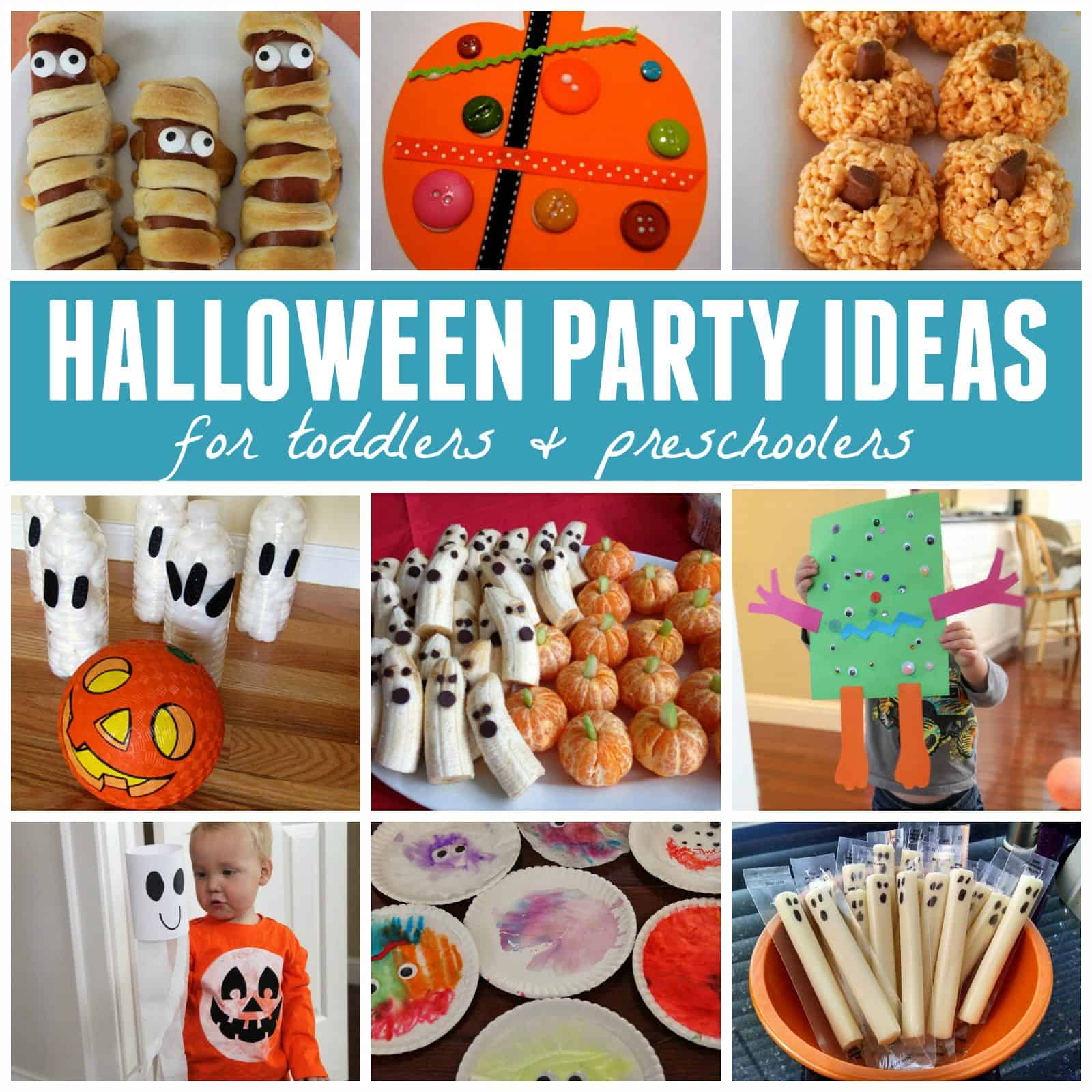 Last Minute Halloween Party Ideas Toddler Approved