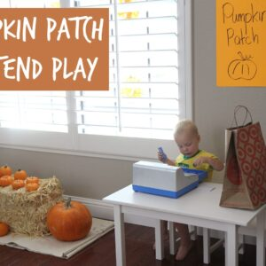 Pumpkin Patch Pretend Play {+ Learning Resources Giveaway}